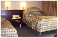 ユニバーサルルーム(ベッド)